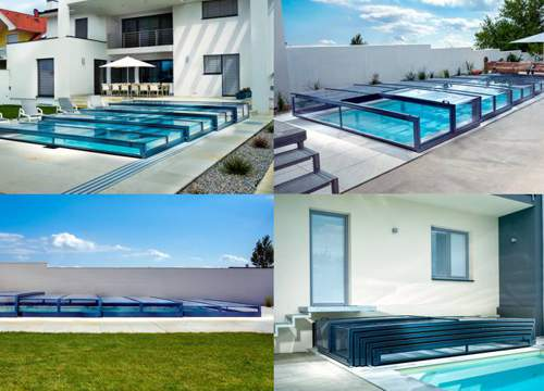Pool covers<br>Diamant Prestige line