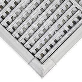 Aluminiowa rynna przelewowa