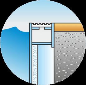 Standard overflow drain