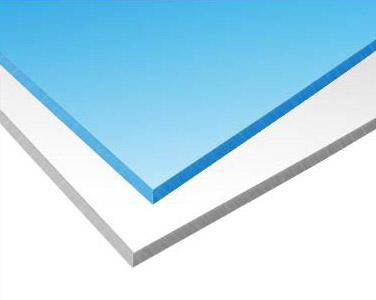 Polystone 5mm modrý a biely