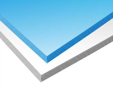 Polystone 8mm blau oder weiss