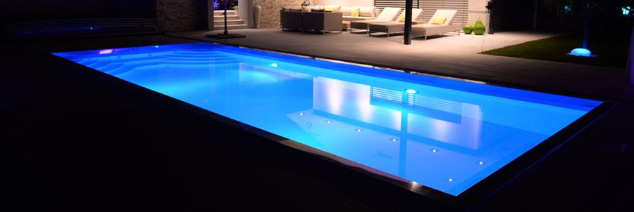 Osvetlenie bazéna