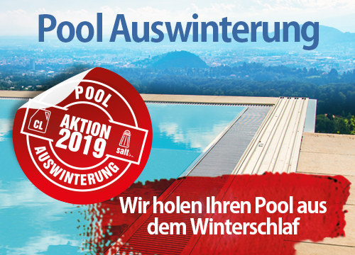 Wir bereiten Ihre Pooltechnik für die neue Badesaison 2019 vor.