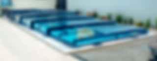 Verglasung Der Prestigeline Poolüberdachung