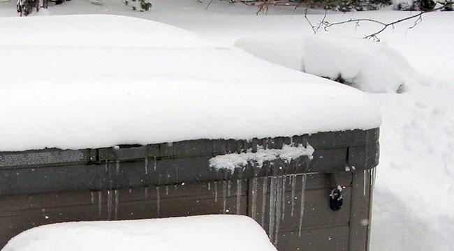 Xtreme™ winter cover tmavě hnědý