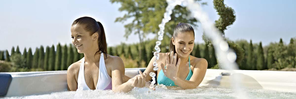 Vířivky, vířivé bazény