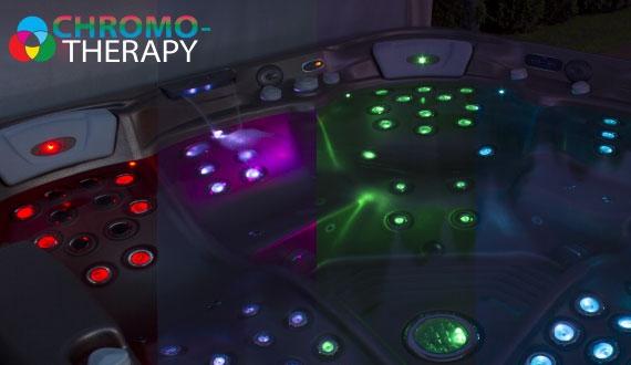 Chromoterapie - osvětlení pro terapii barvami