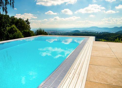 přelivový bazén Diamant