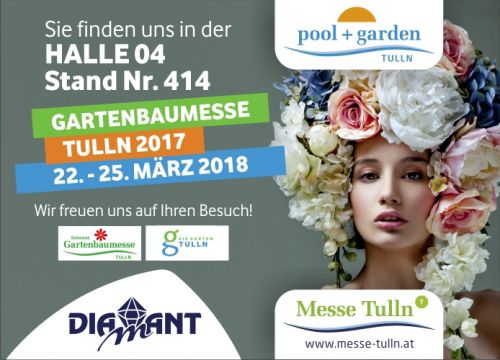 Diamant Unipool auf Gartenbaumesse