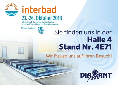 Diamant Unipool auf Interbad Stuttgart 2018