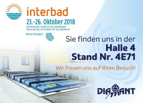Diamant Unipool auf Interbad Stuttgart 2018