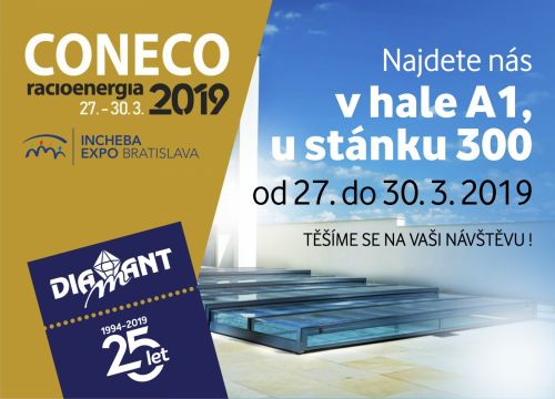 Diamant Unipool na CONECU 2019 v Bratislavě
