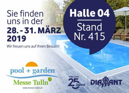 Zveme na výstavu: Pool + Garten v rakouském Tullnu.