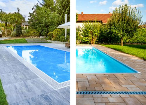 Skimmerowy lub przelewowy basen ogrodowy: Dwa różne systemy oparte na jakości i bezpieczeństwie.