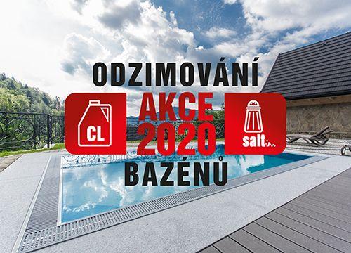 Nabídka jarního servisu bazénu Diamant a jeho příprava na koupací sezónu 2020